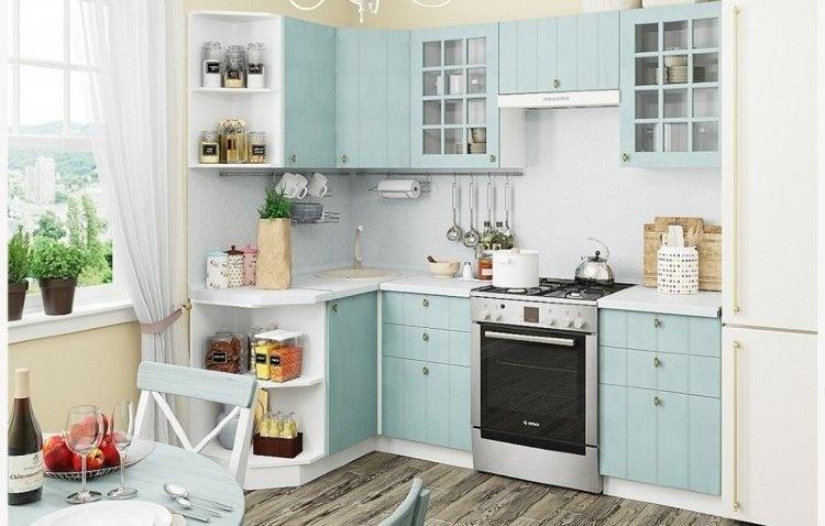 Как грамотно выбрать мебель для маленькой кухни